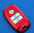De alta calidad para KIA K3 K4 K5 carens Sorento ABS cubierta de la llave, titular de la clave, clave de la cadena, cáscara de la llave del coche accesorios smart, llave del tirón
