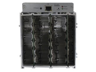 front view with fan attached