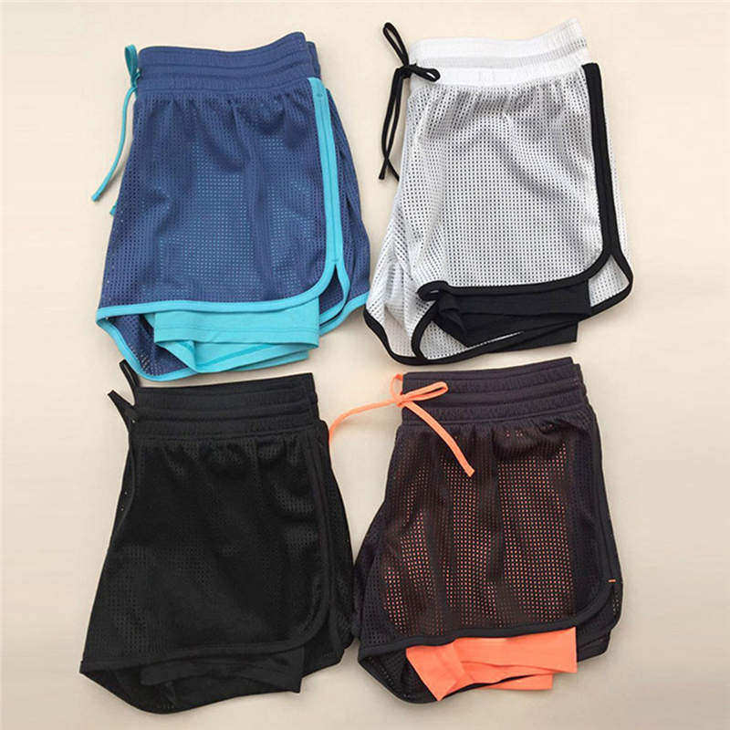 JAYCOSIN Ladies Women's Sports Shorts Anti Emptied Short Pants For Gym And Outdoor Fitness Body Mid Waist Female Stretch Shorts