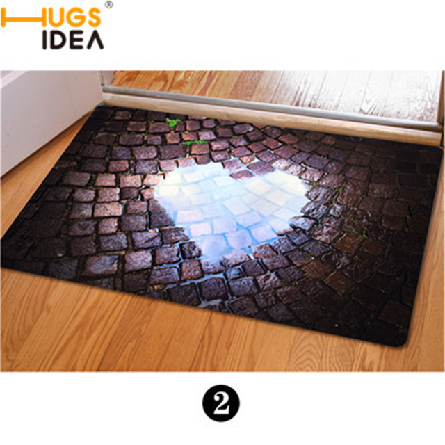 Trap Creative Funny Home Textile Carpet Thin Sitting Room Non-slip Tea  Table Floor Mat