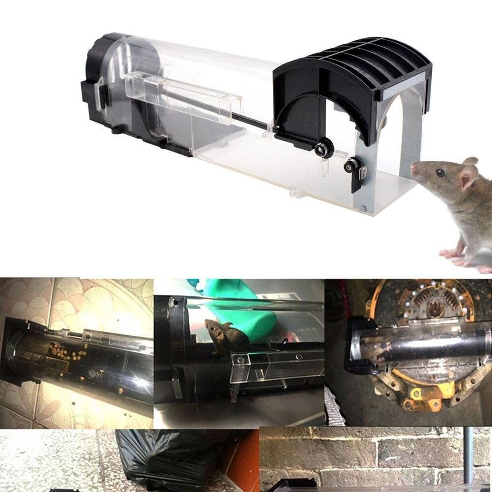 Non Veleno Prendo Esca Trappola Del Mouse Criceto Plastica ABS Intelligente Del Mouse Live Trappole per Topi Piccolo Animale In Diretta Gabbia 3 Stili J2Y