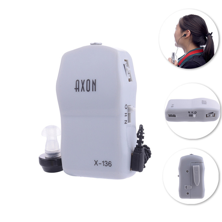 High Power Wired Box Listening Mini Digital Hearing Aid Ear Sound Amplifier Receiver Volume Adjustable Tone Ear Care Tool 14