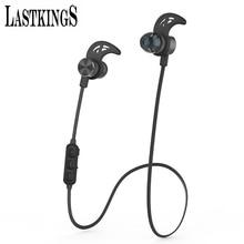 Lastkings Bluetooth наушники Магнитный беспроводная гарнитура для телефона с шумоподавлением с микрофона микрофон Спорт водонепроницаемый
