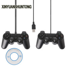 XINYUANSHUNTONG Game Accessory Single Vibration Dual Joystick Gamepad Wired USB Game Controller For PC Laptop