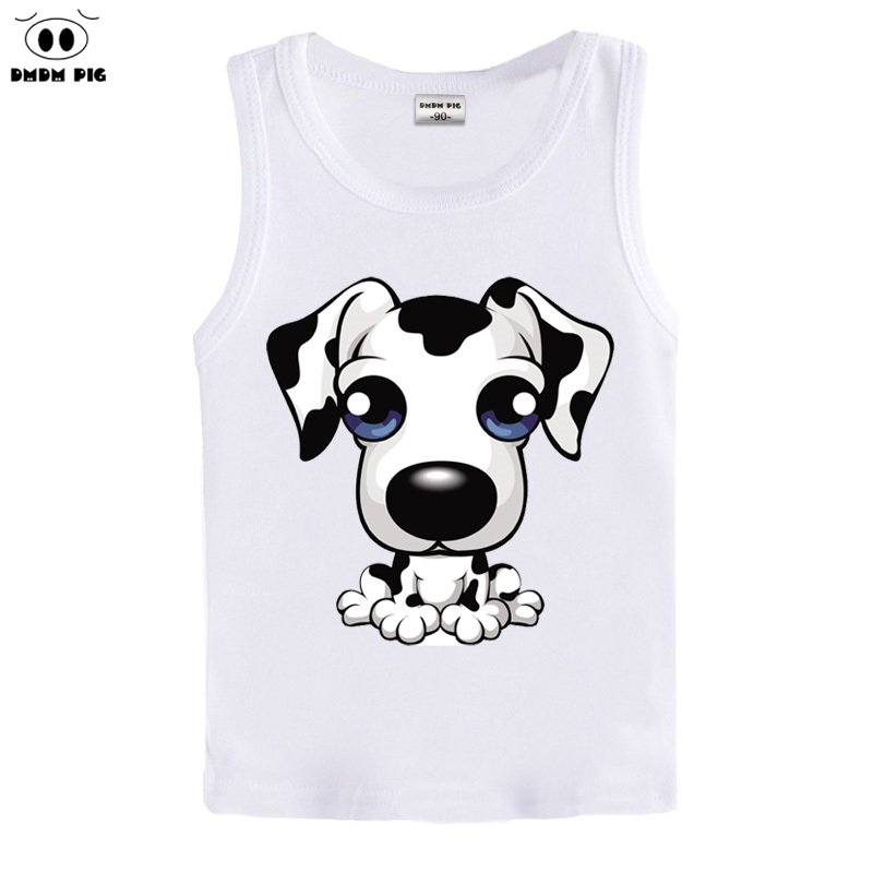 DMDM PIG 2017 Summer 100% Cotton Sleeveless T-Shirts For Boys Girls Clothing Vest Baby T Shirts Kids Clothes + yUBDHvPeuw все цены