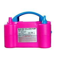 220 V נייד חשמלי בלון אוויר מיטת משאבת אוויר חשמלית מיטת משאבת כפול חור Inflator מדחס אוויר אביזרי מסיבת שונים
