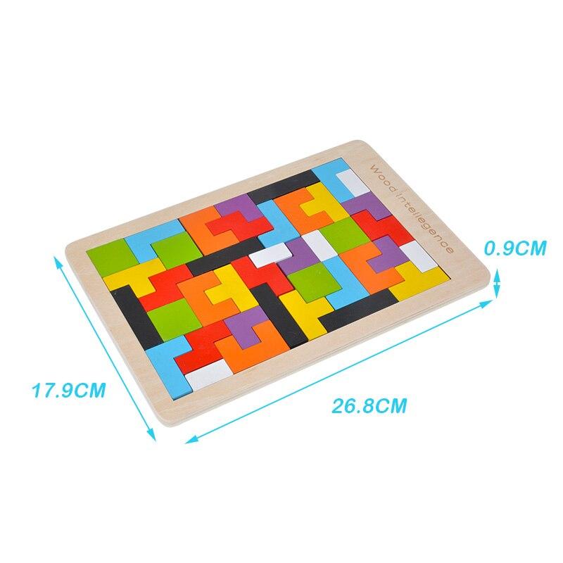 Балалар ойыншықтары Ағаш Tangram / Jigsaw Board - Ойындар мен басқатырғыштар - фото 6