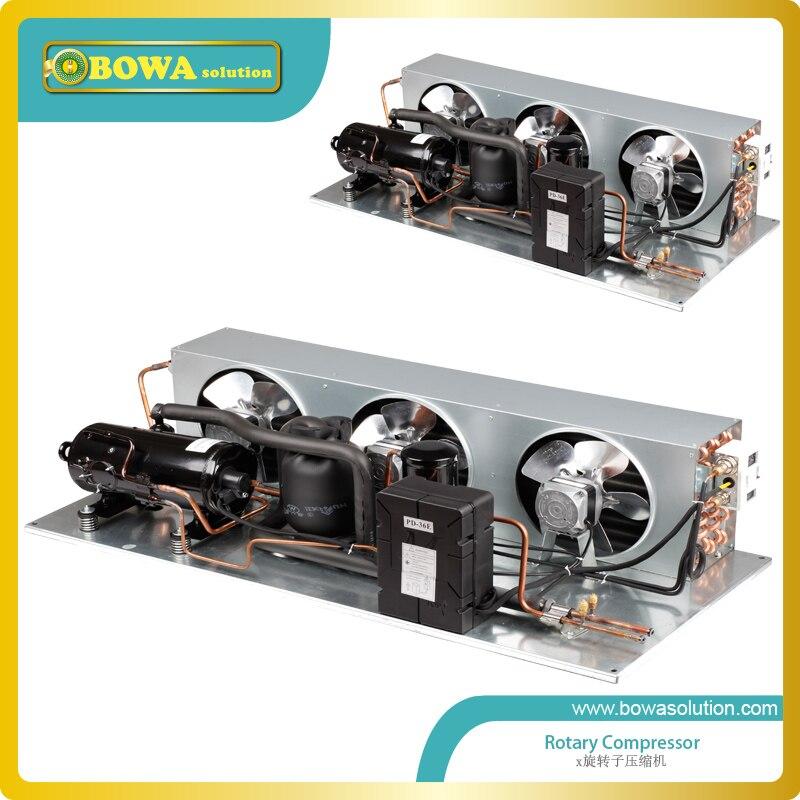 1.5HP R404a verflüssigungssatz arbeits für lebensmittel prozess ausrüstung