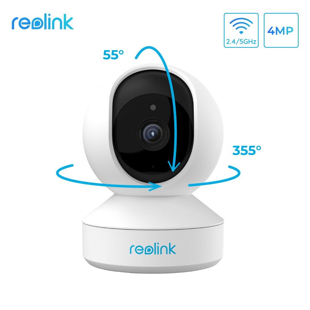 Reolink 4MP home security ip camera 2 4G 5G WiFi Pan Tilt listen talk SD card