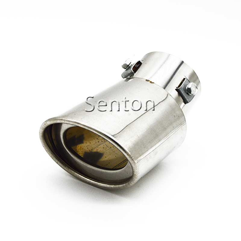 Car Exhaust Muffler Pipe Tip For KIA RIO K2 K3 FORTE Soul Venga Skoda Octavia Renault Buick Fiat Opel Peugeot Mazda Accessories car usb sd aux adapter digital music changer mp3 converter for skoda octavia 2007 2011 fits select oem radios