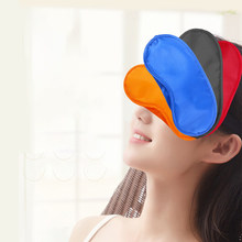 Sleep mask blindfold for travel soft breathable fit skin light shade cover Blackout Naps Shift Work for women men sleep Fabric(China)