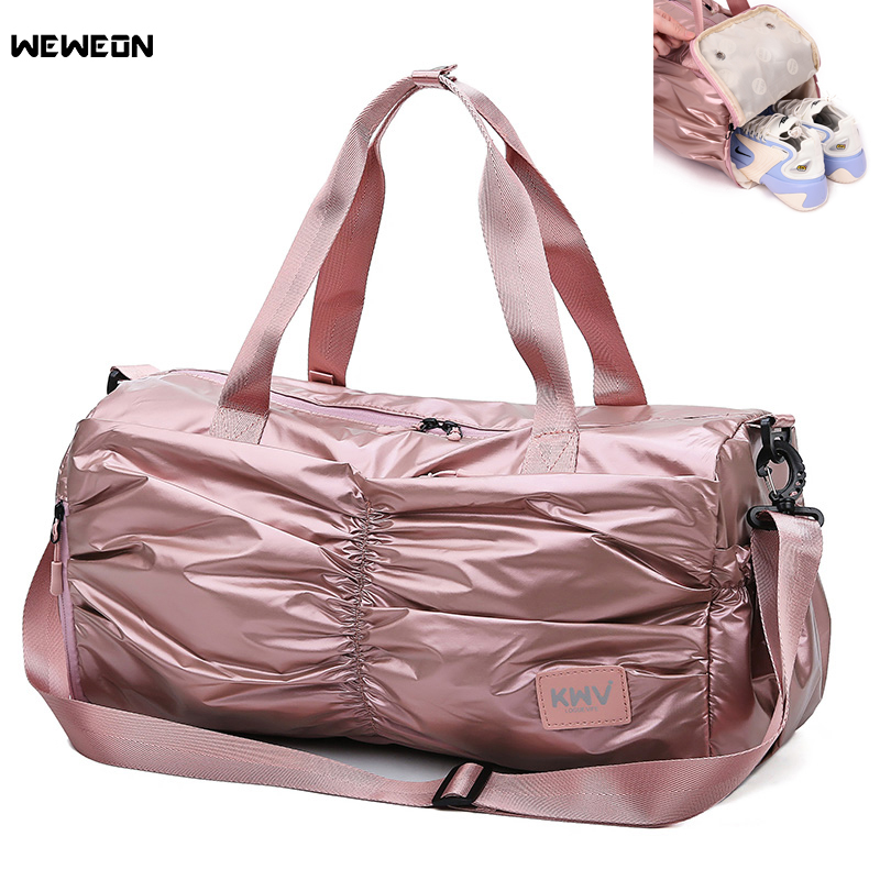 Travel Luggage Duffle Bag Lightweight Portable Handbag Musical Skull Print Large Capacity Waterproof Foldable Storage Tote