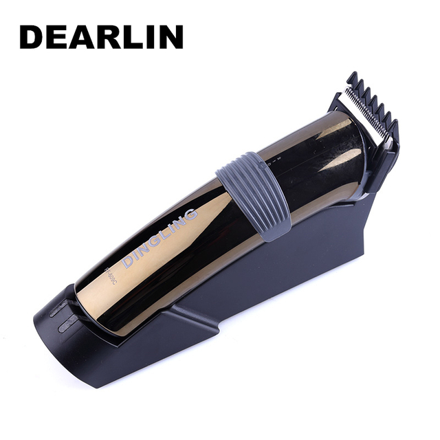 Dearlin Dingling RF-609C New Rechargeable Hair Trimmer Professional Hair Clipper Beard Trimmer Clips Men Shaving Machine Cutting
