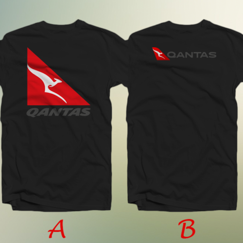 2019 Funny Qantas Airways Australian Airline New T-Shirt Cotton 100% Double Side Unisex Tee