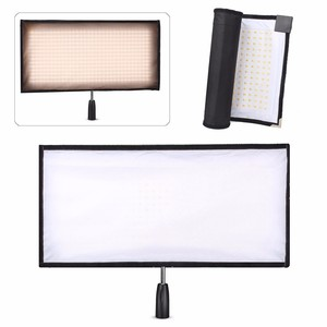 EACHSHOT FL 3060A 30x60 centímetros Flex Bi Color Mat 90 CRI mais de 3200 5500K 480 painel de LED Magro Ultraleve com Controle Remoto 2.4G|led panel cri|led bi-color|panel led slim -