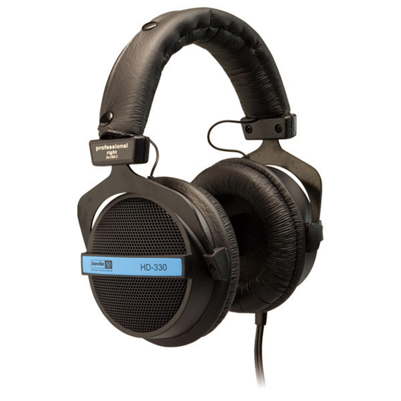 Brand New Original Superlux HD330 Headphone Professional Monitoring Semi-open Dynamic Noise Isolating Over Ear DJ HiFi Headset superlux hd 562 omnibearing headphones noise canceling monitoring rotatable
