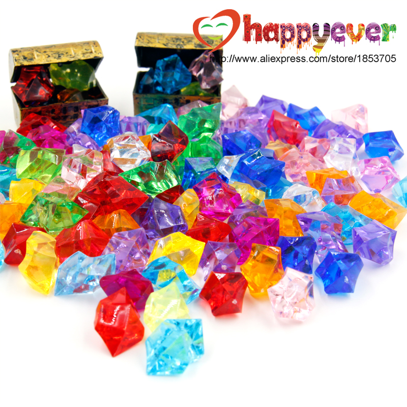 Buy 100pcs pirate jewels treasure chest for Decoration jewels mhw