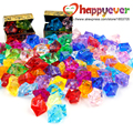 100pcs Pirate Jewels Treasure Chest Pirate Party Favors Party Decorations Acrylic Crystal Gems Vase Filler Confetti