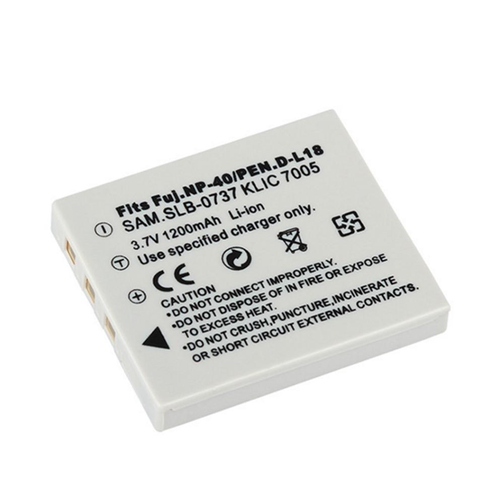 NP-40 NP40 1200mAh Battery for Fujifilm Fuji FinePix 455 F10 F402 F455 F460 F470 F610 F650 F700 F710 F810 F811 V10 Z1 Zoom Z2 Z3