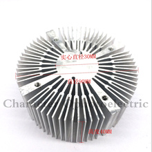 1pcs 90*40mm Aluminium Heatsink Round for 20W 30W 50W 100W High Power led