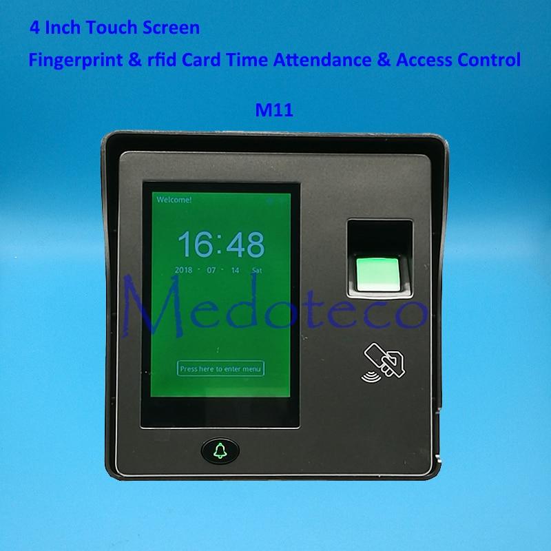 Tcp/ip биометрический отпечаток пальца и Rfid карта контроля доступа система контроля допуска к двери дверной контроллер доступа дверной замок