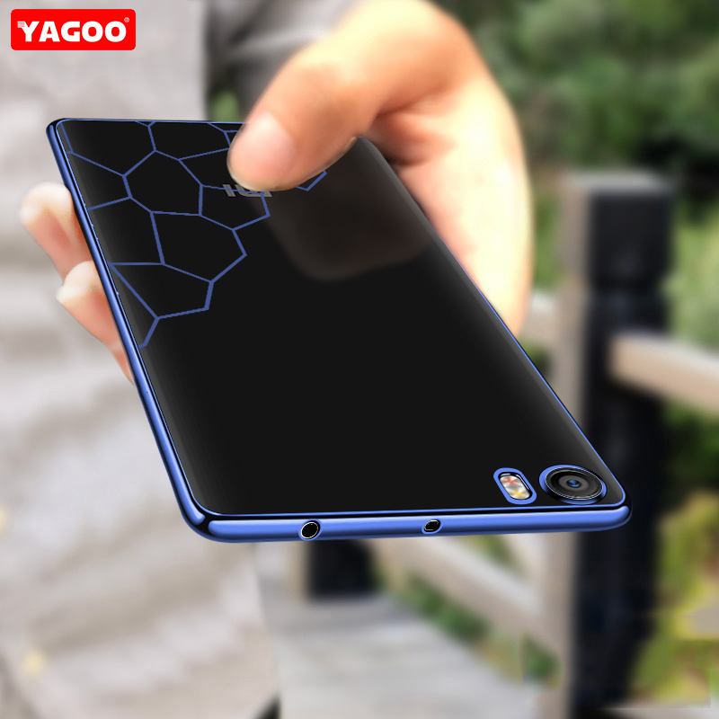 For xiaomi mi5 Case for xiaomi mi 5 cover original Yagoo Super Transparent soft back cover case with free screen protector funda