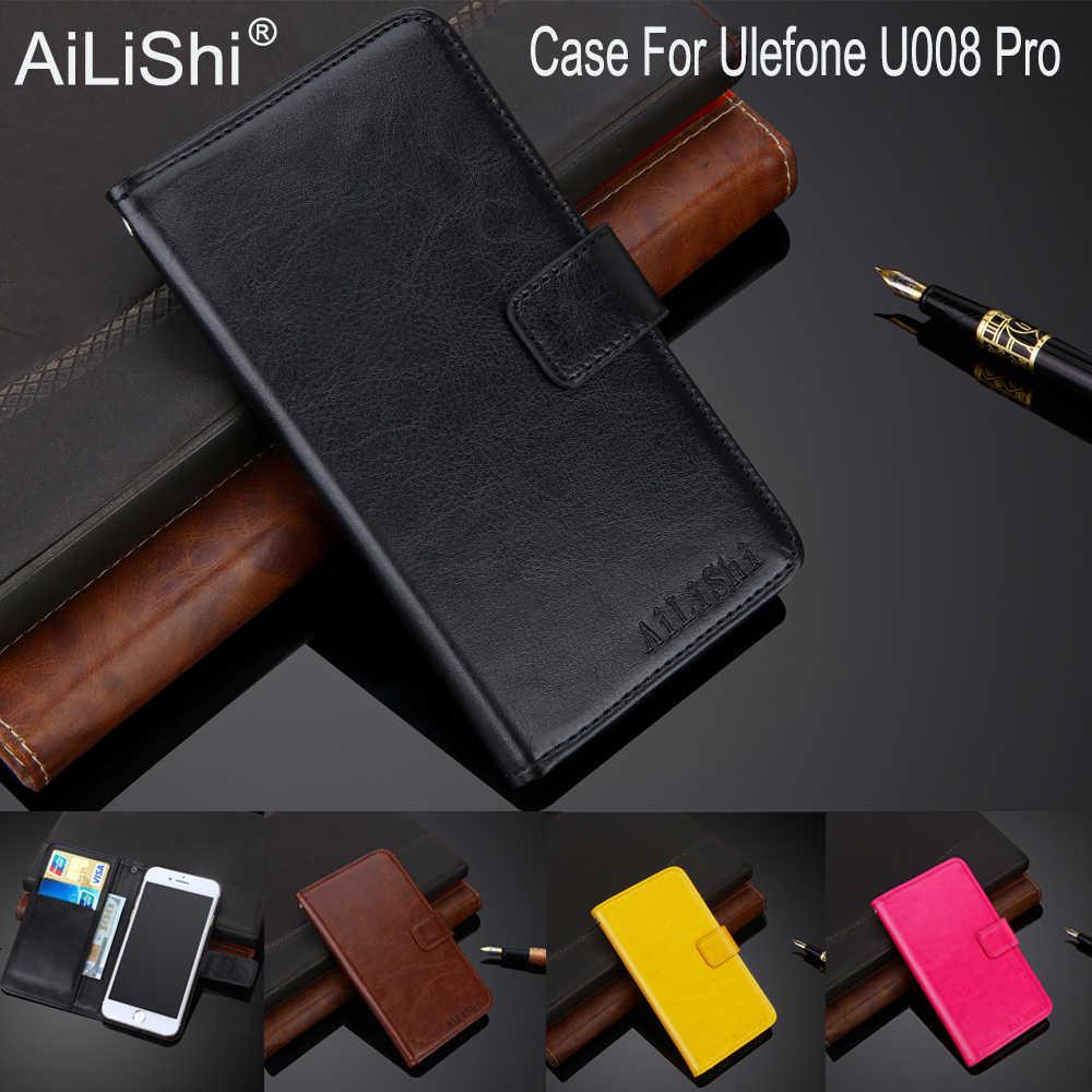 AiLiShi 100% Эксклюзивный чехол для Ulefone U008 Pro Роскошный кожаный чехол-книжка с функцией Одежда высшего качества Чехол кошелек для телефона держатель + отслеживание посылки