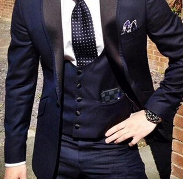 navy-blue-groom-tuxedos-for-wedding-wear-2018-peaked-lapel-one-button-custom-made-business-men-suits-jacket-+vest-+-pants (2)