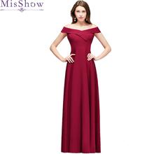 prom dress 2019 Vestido de formatura longo Burgundy Party Dresses Prom Gown Floor length Long Vestidos