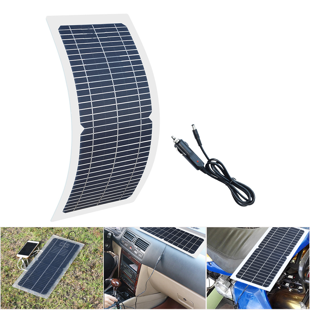 10W 18V Flexible solar panels 22