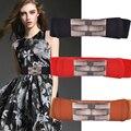 Nueva Llegada de la Señora Cummerbunds Breve Cinturón Elástico Decoración de la Correa de La Falda de Las Mujeres de Moda Todas Correspondan Pretina Ancha Promoción B-2794