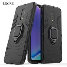 For Oneplus 7 Case Hard Finger Ring Magnetic Kickstand Oneplus 6T Phone Case For Oneplus 7 Cover For Oneplus 7 Fundas oneplus черный 8gb128gb