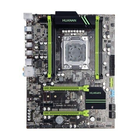 Huananzhi X79 carte mère HUANAN V2.49 LGA2011 ATX USB3.0 SATA3 PCI-E NVME M.2 SSD support REG ECC mémoire et processeur Xeon E5