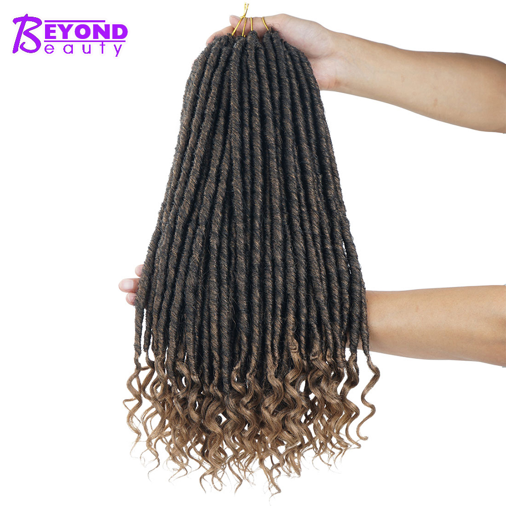 Dreadlocks Hair Extensions 18inch Handmade Goddess Short Natural