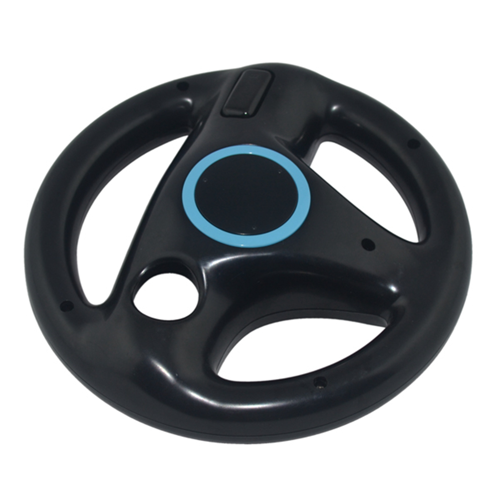 5PCS Hight quality Racing Steering Wheel For Nintend for Wii Racing Games Remote Controller Console