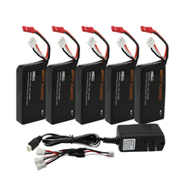Cheerson CX 35 CX35 Hubsan H301S Lipo Battery 7 4V 1300mAh 15C 5pcs Batteies Of UL
