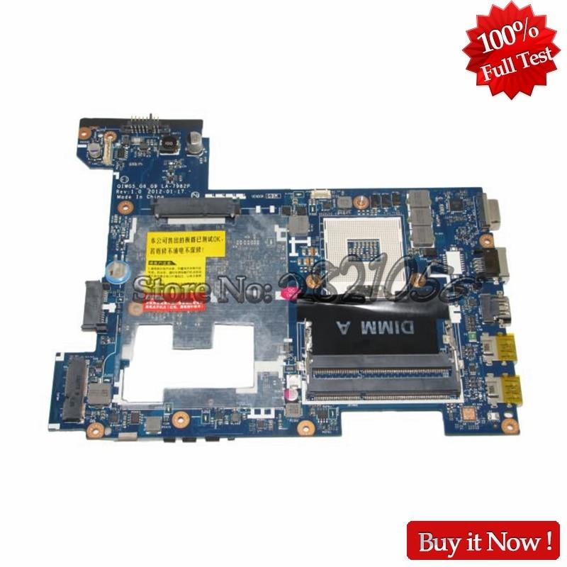 NOKOTION Laptop Motherboard For Lenovo G480 QIWG5 G6 G9 LA 7982P Main Board HM77 DDR3