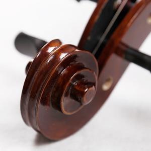 Image 4 - Sevenangel Handwerk Olie Vernis Antieke Cello 4/4 Natuurlijke Gevlamd Grade Aaa Sparren Panel Violoncello Muziekinstrumenten