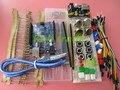 Общие части пакета Для Arduino kit + UNO R3 + MB-102 830 точек Макет + 65 Гибкие кабели + jumper коробку провода