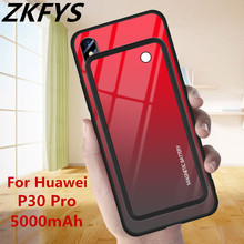 5000mAh Power Bank Back Clip Battery Charger Case For Huawei P30 Pro Wireless Magnetic Ultra Thin Fast