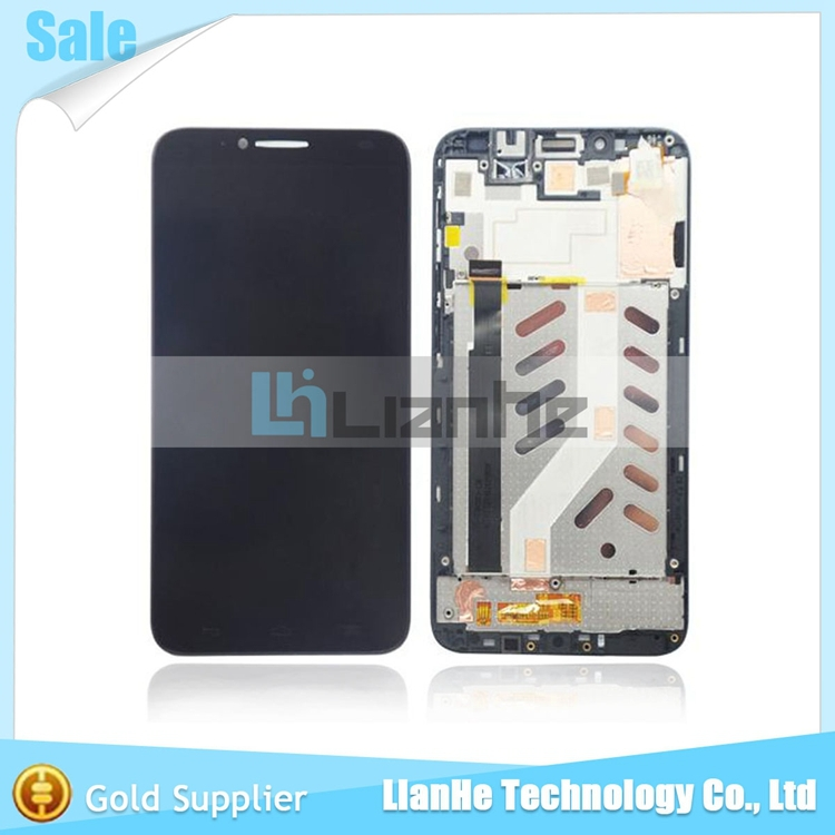 100 working lcd display for Alcatel One Touch Idol 2 OT6037 6037 6037Y LCD with touch