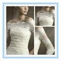 Мода очаровательная кружева свадебное пальто 3/4 с длинным рукавом кружева свадьба обертывания новое поступление бато куртка свадьба ( ASPS-1026 )