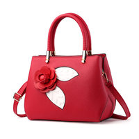Women Small Embroidery Flower Handbag Fashion Brand Crossbody Bags Sac a Main Femme De Marque Luxe Cuir Totes Clutch Bolsos Bags