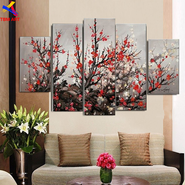 TBM ART 150X80CM Hand-painted Modern Abstract Oil Painting on Canvas Wall Art Gift for Living Room Decoration No Frame  JYJLV285