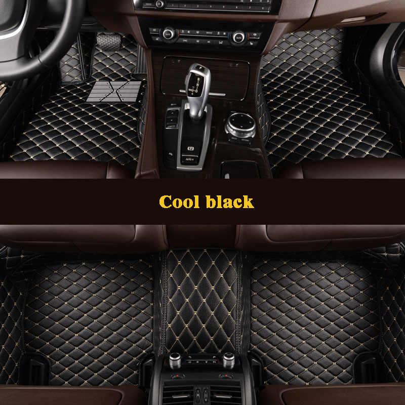 Kalaisike пользовательские автомобильные коврики для Maserati все модели GranTurismo Ghibli Levante quattroporte авто аксессуары для стайлинга автомобилей