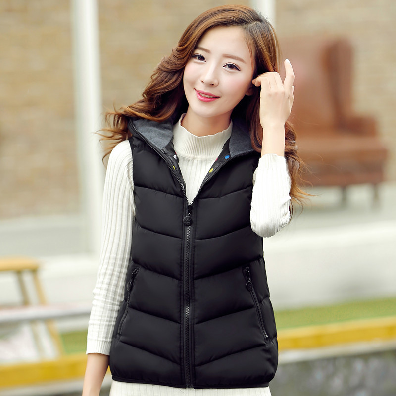 f141a3ac2aa 2017 New Plus Size Autumn Winter Coat Women Ladies Gilet Colete Feminino  Casual Waistcoat Female Sleeveless ...
