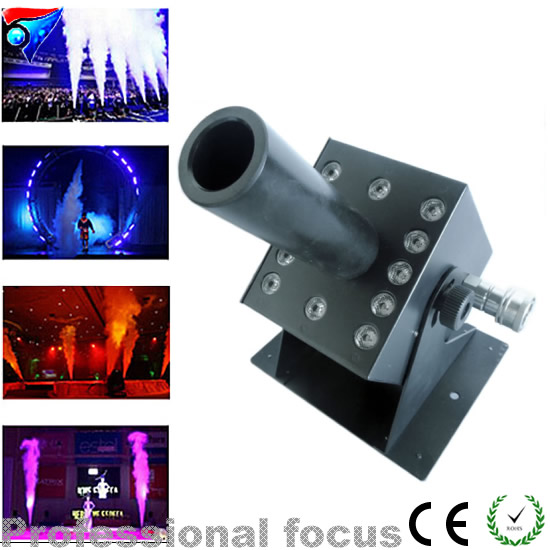 Free Shipping 12X3W Led Co2 Jet Stage Lighting Effect DMX Led American DJ CO2 Jets Without Hose 6xlot disco dj strong smoke effect double nozzle co2 jet hi power dmx co2 jet machine professional dj equipment for stage show