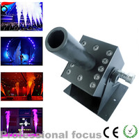 Free Shipping 12X3W Led Co2 Jet Stage Lighting Effect DMX Led American DJ CO2 Jets Without Hose