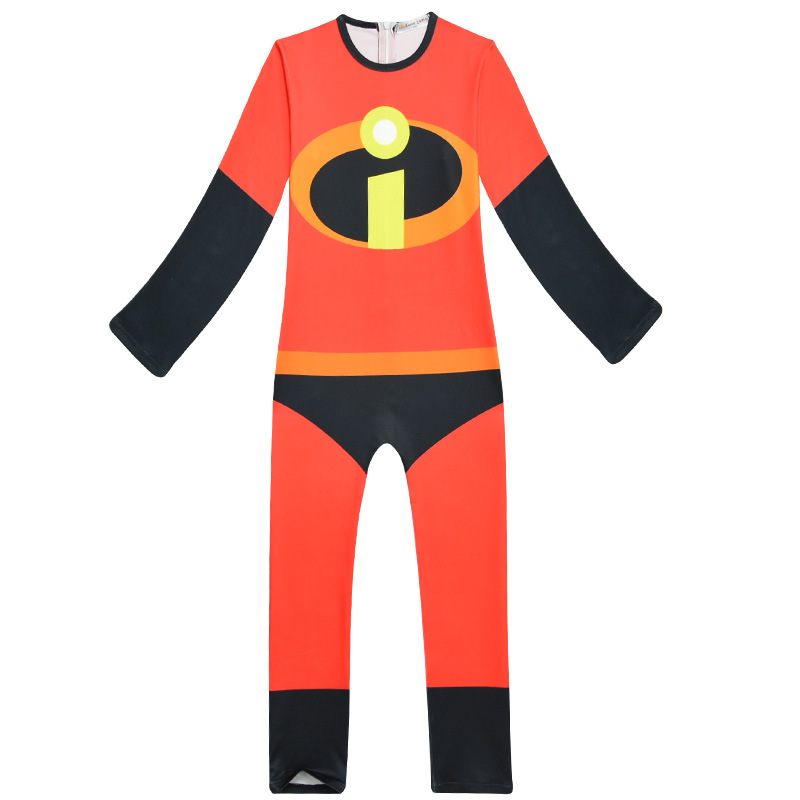 The Incredibles 2 Mr. Incredible Bob Parr Clothing Set Bodysuit Jumpsuit Boy Girl Costumes Cosplay Halloween Performance Clothes