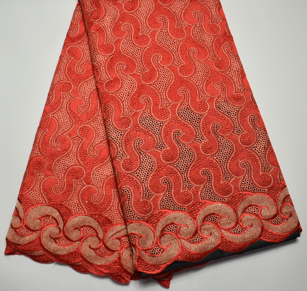 Latest High Quality 100% Swiss Design Coral swiss voile  lace Fabric  For Nigeria Wedding 5 Yards tulle lace fabricLatest High Quality 100% Swiss Design Coral swiss voile  lace Fabric  For Nigeria Wedding 5 Yards tulle lace fabric